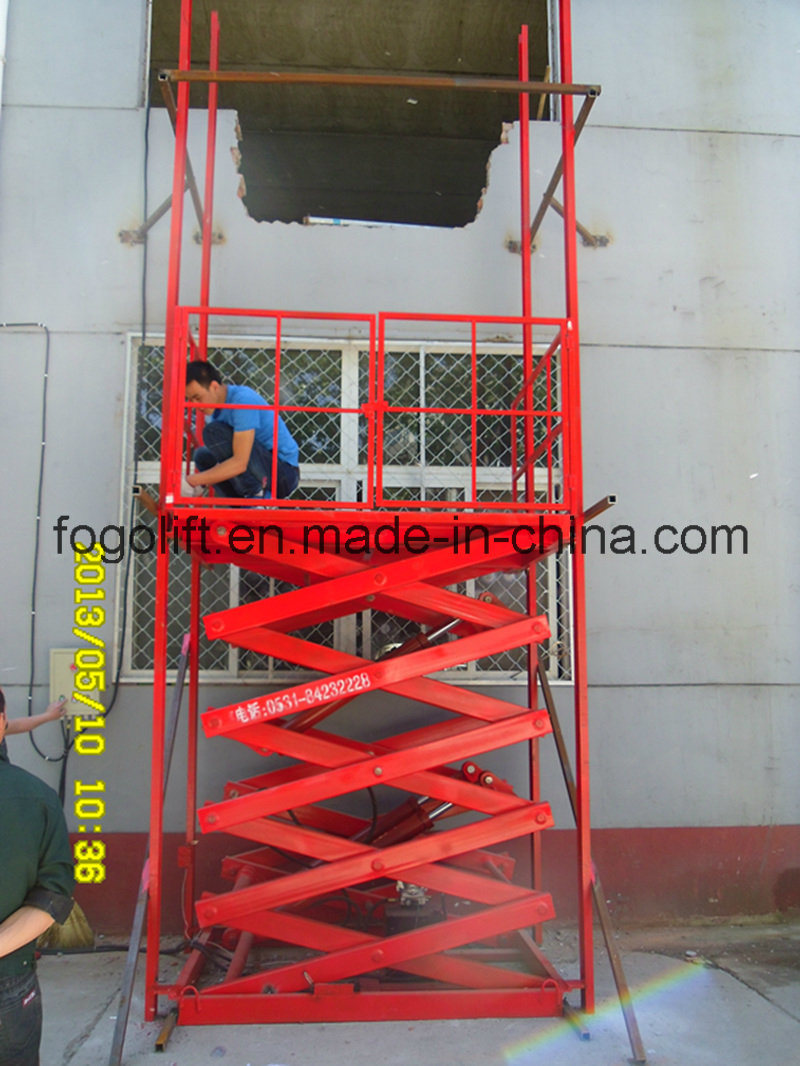 10t 3m Heavy Duty Freight Scissor Lift