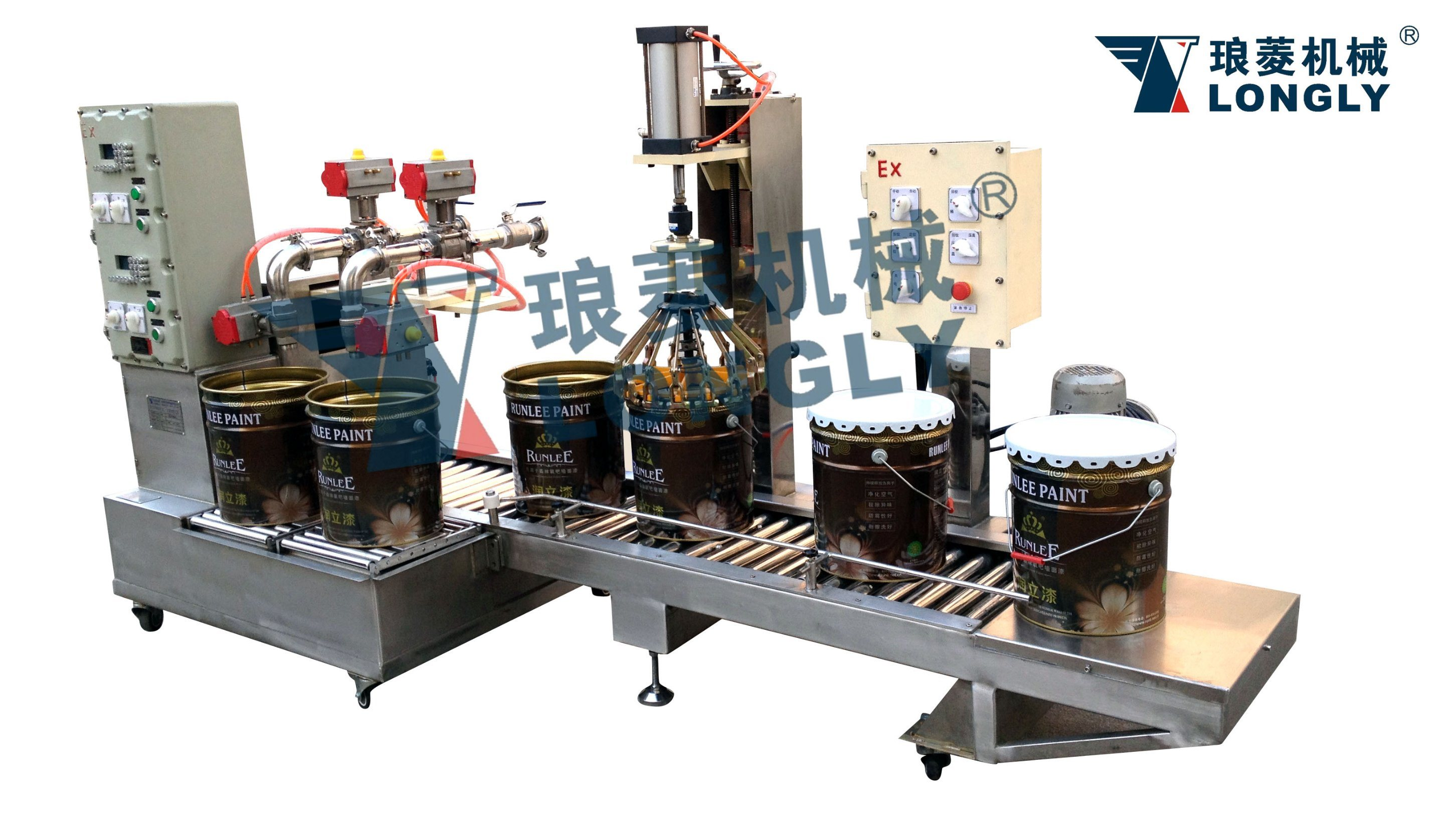 Weighing Type Liquid Filling Machine