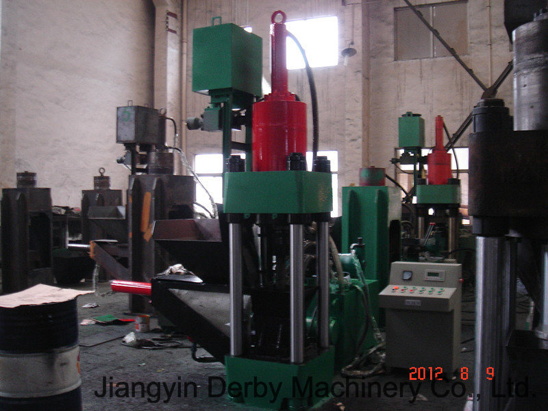 Briquetters Automatic Aluminum Iron Metal Scrap Hydraulic Briquette Recycling Machine- (SBJ-250B)