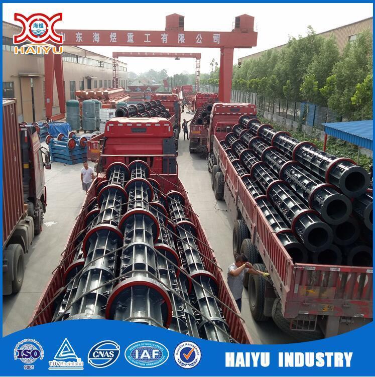 Power Transmission Concrete Electric Pole Machine