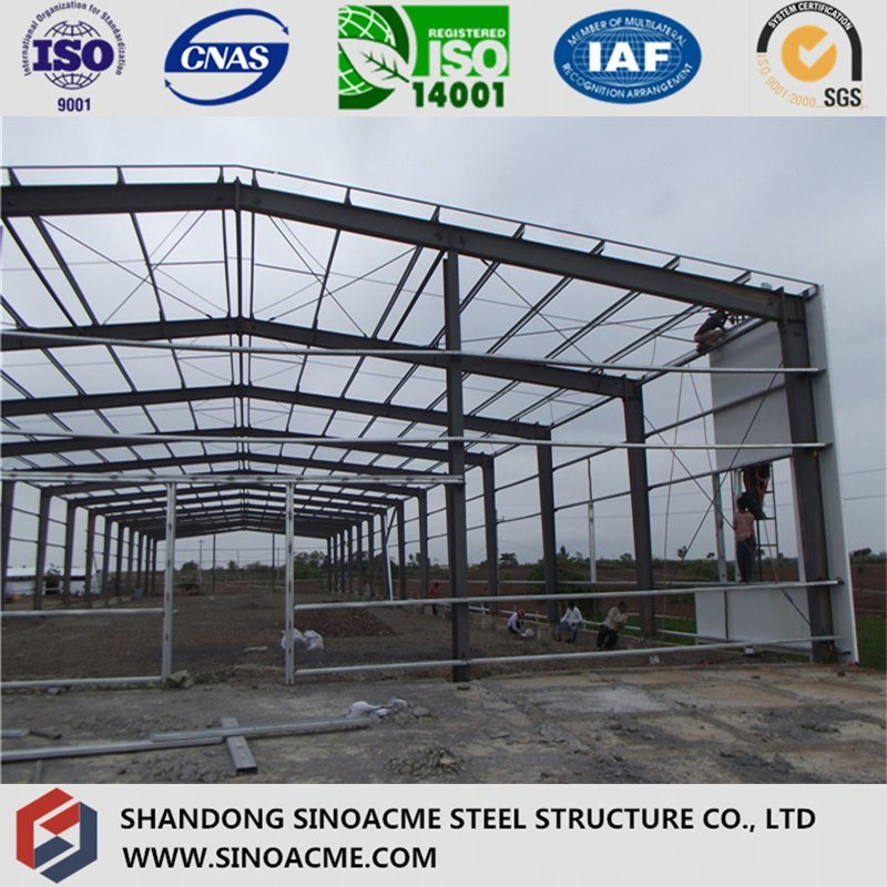 Modern Steel Structure Warehouse in South Africa