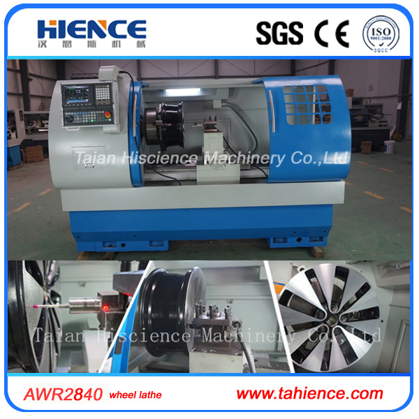 Wheel Polishing Machine Car Alloy Wheel Rim Repair CNC Lathe Awr2840