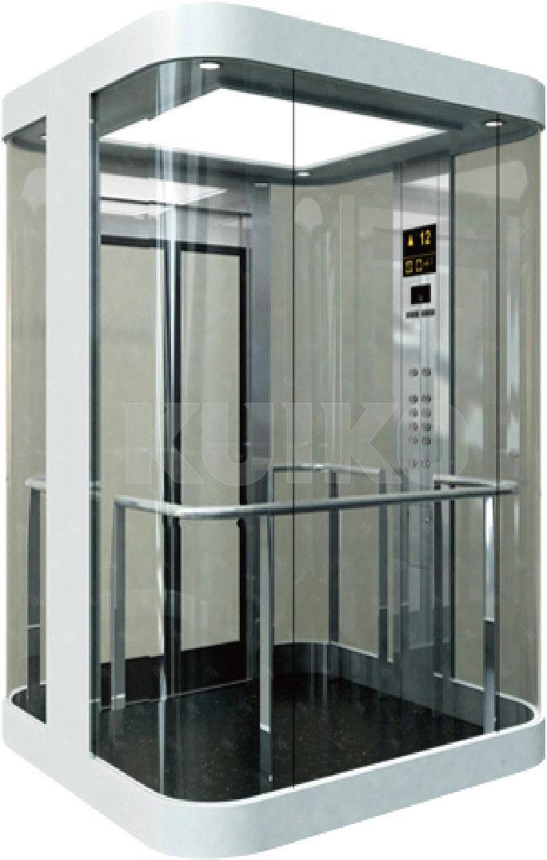 Kjx-G106 Panoramic Elevator Mirror Sts Car Machine Passenger Lift
