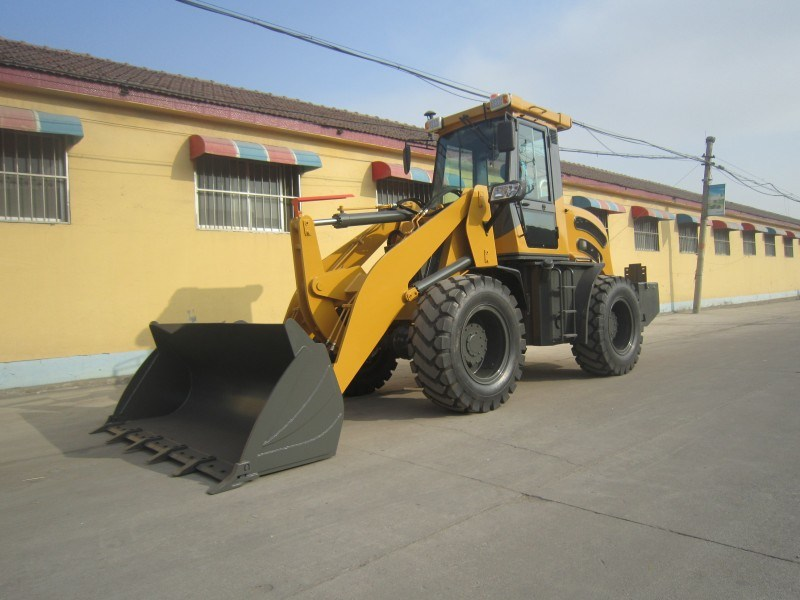Hzm S300 3ton Mini Front Wheel Loader with Ce