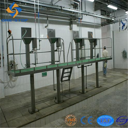 Slaughter Machinery Rail Change Platform
