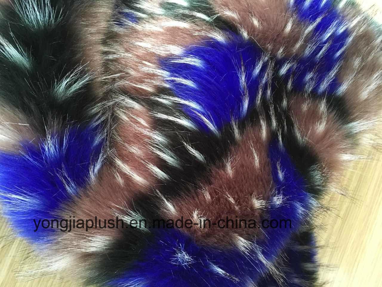Year 2016 Fashion Multicolor Raccoon Faux Fur