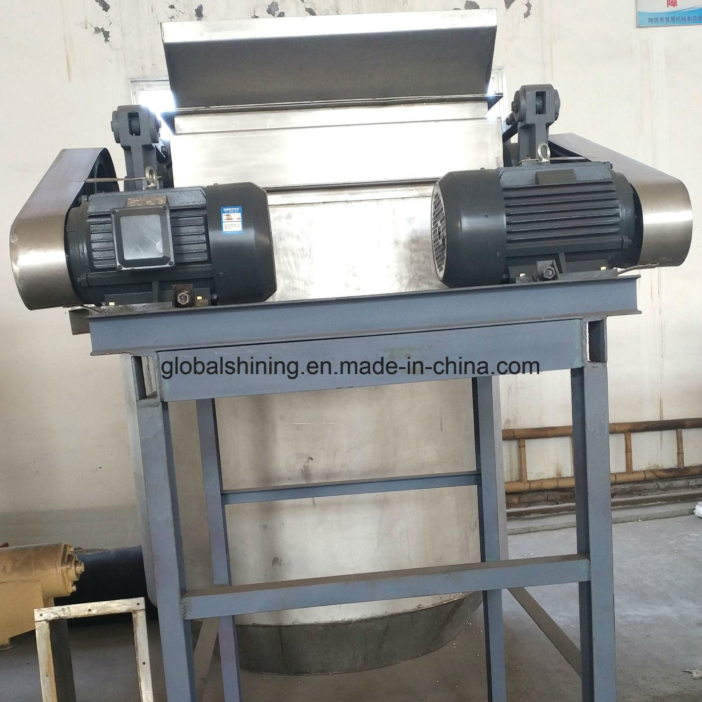 Iodized Table Industrial Edible Refined Salt Grinding Machine