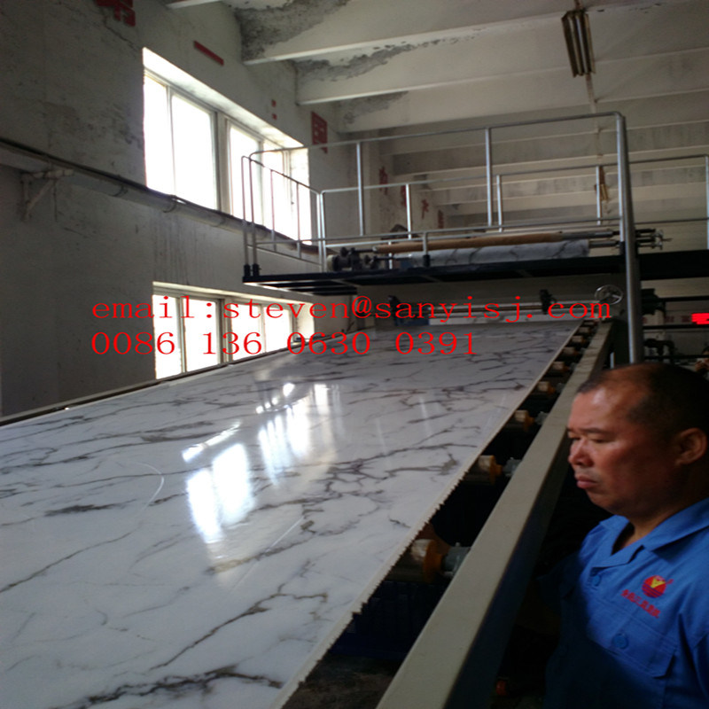 PVC Marble Board Production Line/Plastic Machine/PVC Machinery