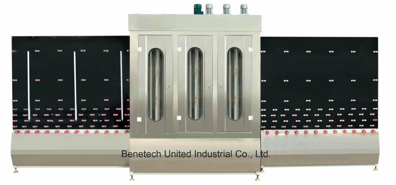 Glass Vertical Washing and Drying Machine