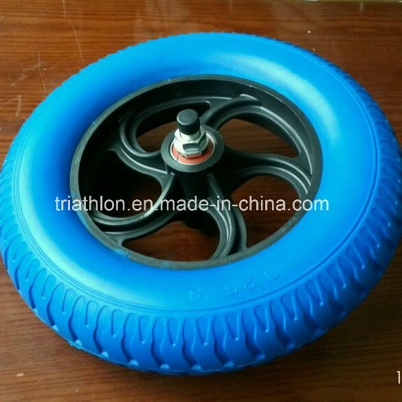 15X3.50-8 3.25-8 3.00-8 4.00-8 PU Foam Tires with Rib Tread