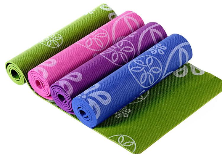 Custom Printing Eco Friendly PVC Foam Yoga Pilate Mat
