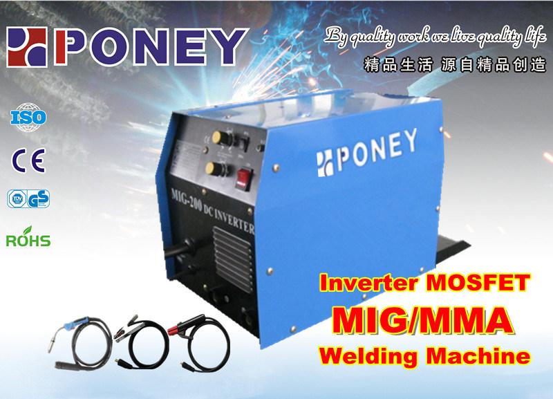 Inverter Mosfet 2 in 1 MMA/MIG Welding Machine