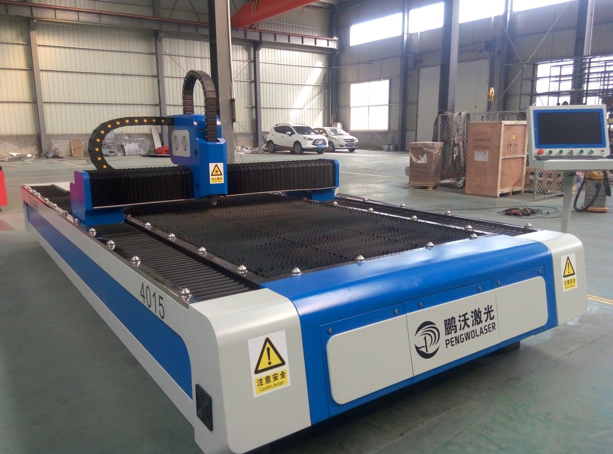 High Power Fiber Cutting Machine with CNC Laser