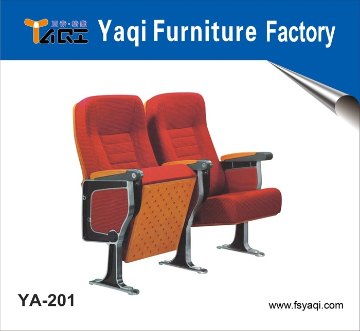 Comfortable Auditorium Seat Aluminum Alloy Auditorium Chair (YA-201)