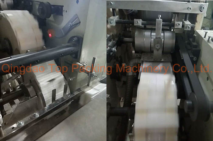 10bags Pocket Tissue Paper Napkin Packaging Machinery