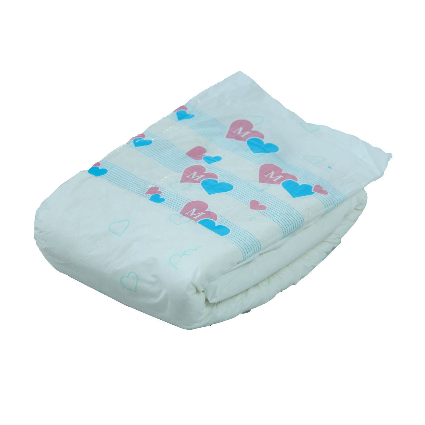 Disposable Overnight Absorbency Adult Diaper with Baby Printing