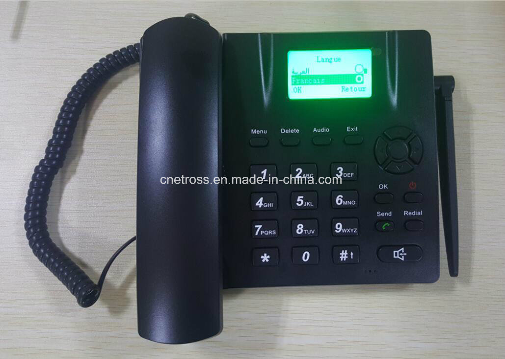 12 Year Manufacturer Fixed Wireless Phone/ GSM Desktop Phone with 3G Multi Langauge