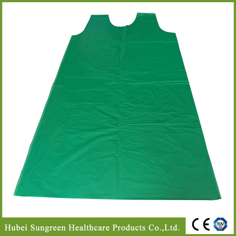 PE Vest Apron, PE Smock, Disposable Plastic Vest Gown