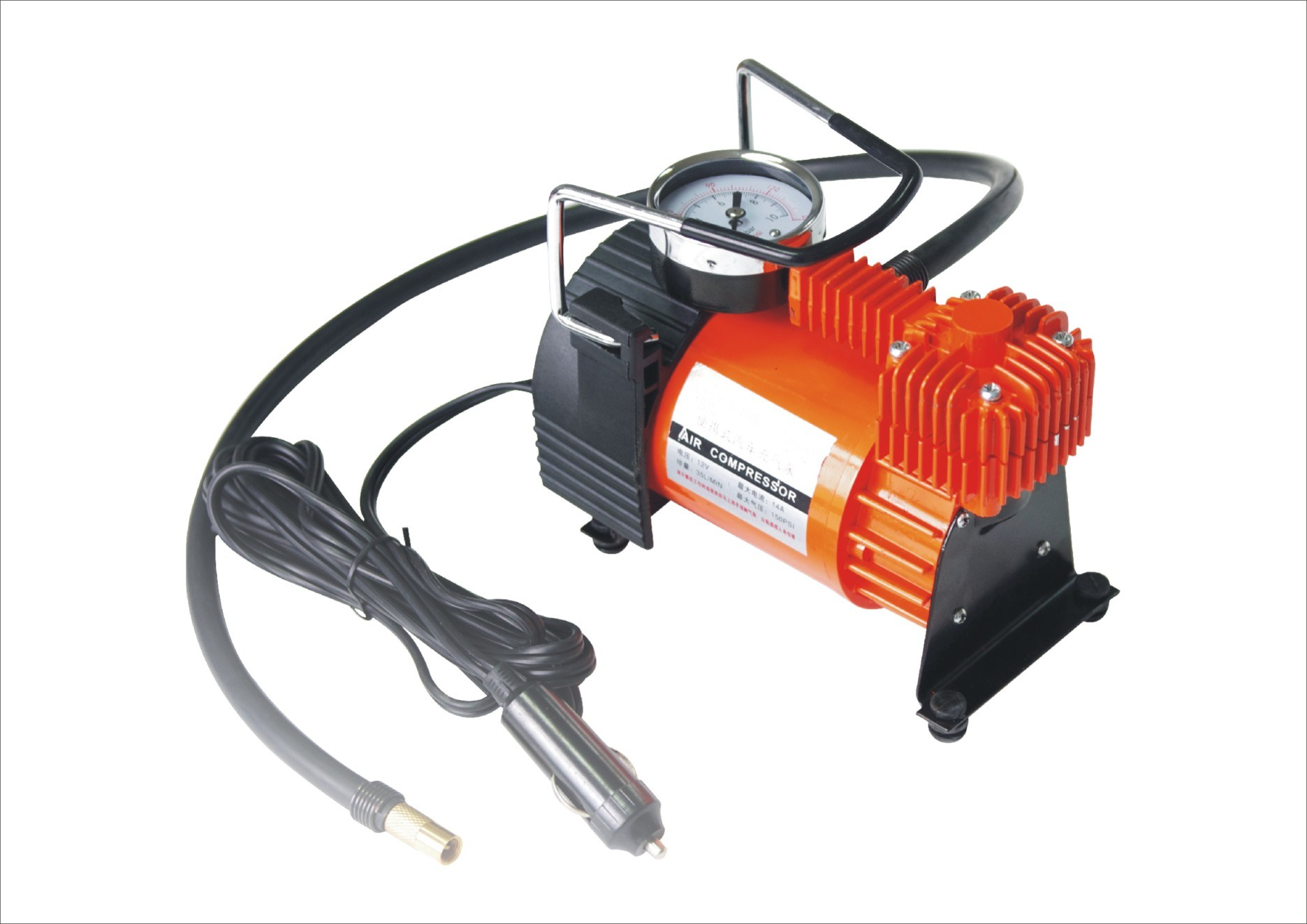DC 12V/24V 100psi Mini Air Compressor for Car