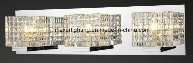 Decorative 3lite LED Wall Lamp for Bathroom