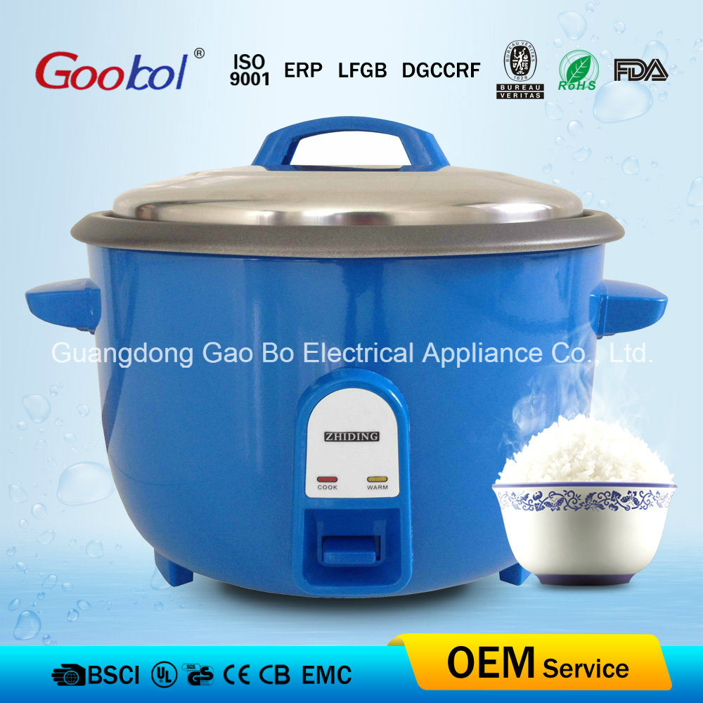 Nonstick Coating RoHS Certificate Heathy Big Rice Cooker 2500W 8.0L