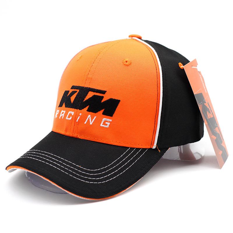 Orange Racing Cap/Baseball Hat/Fashion Cap for Motocross Sports (ASC06)
