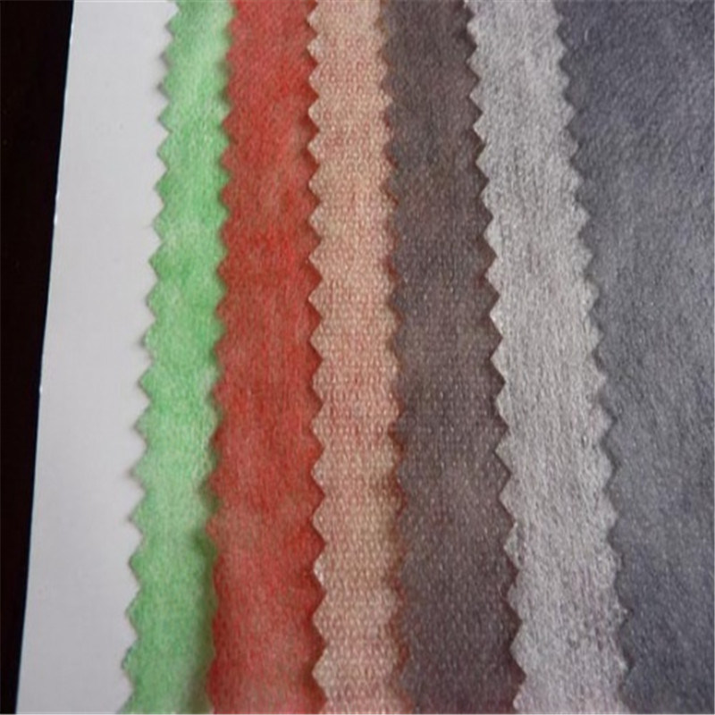 50%Nylon 50% Polyester Double DOT Interlining fabric