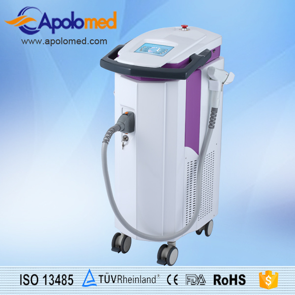 Integrated Medical Laser Platform with 1064nm YAG Laser and Er YAG Laser Equipment