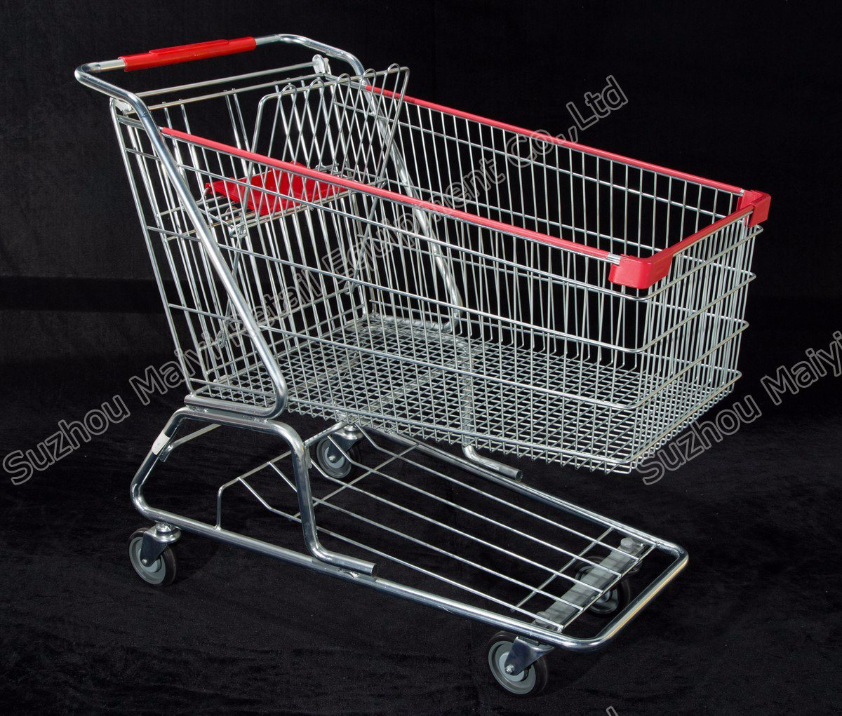 American Style Supermarket Retail Store Convenient Shopping Trolley