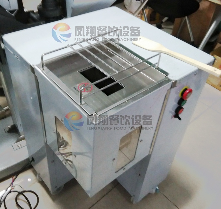 Industrial Automatic Fresh Meat Strips Pieces Shredding Slicing Cutting Machine