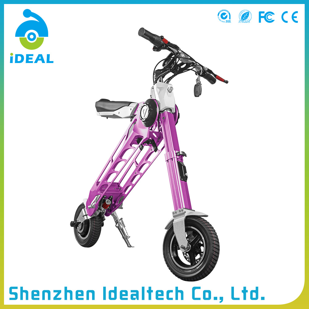 Unique Design 25km/H 10 Inch Mobility Folded Electric Scooter