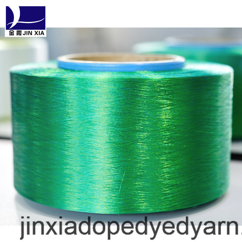 FDY Dope Dyed 400d/192f Filament Polyester Yarn