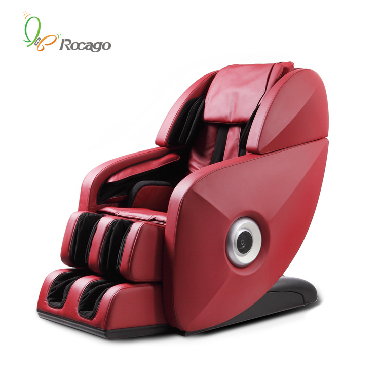 China Luxury Massage Chair with 70 Airbags and LED