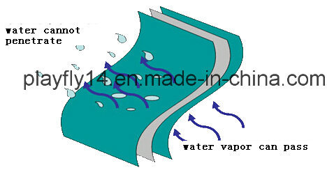 Playfly High Polymer Composite Waterproof Membrane (F-140)