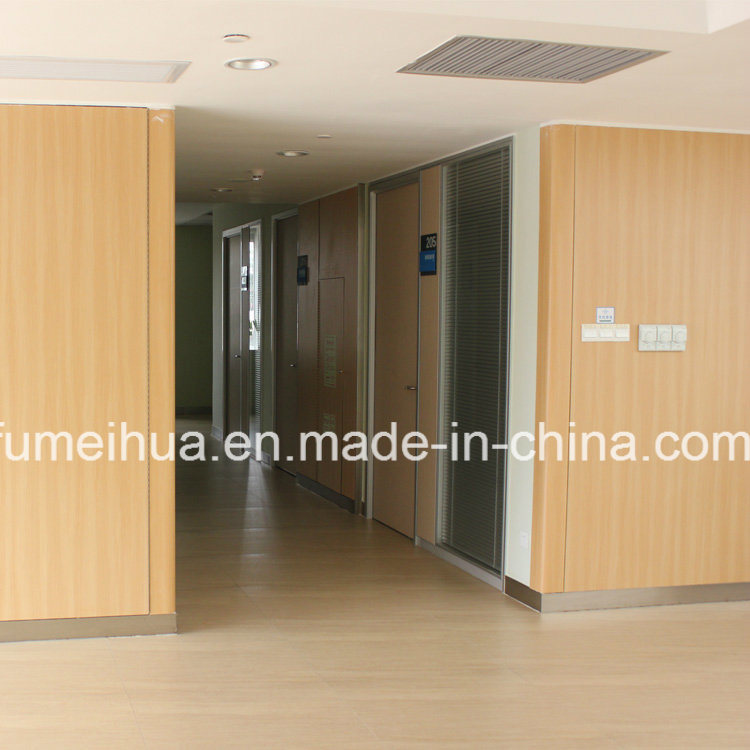 Light Blue Waterproof / Anti-Bacterial Indoor Wall Cladding