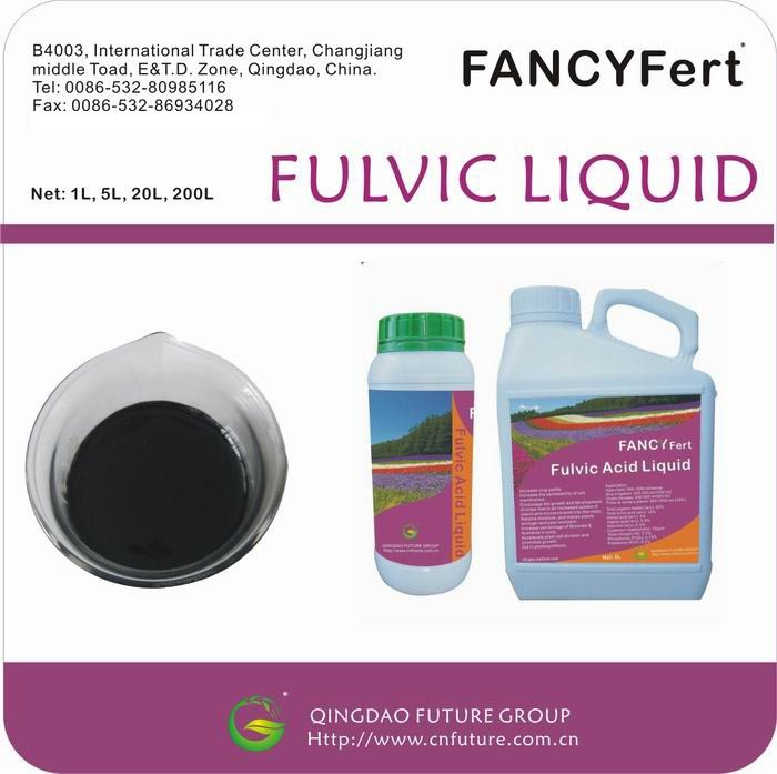 Liquid Fulvic Acid Organic Fertilzer