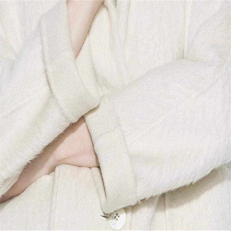 Woolen Plush, Alpaca, for Jacket, Apparel, Garment Fabric, Textile, Suit Fabric