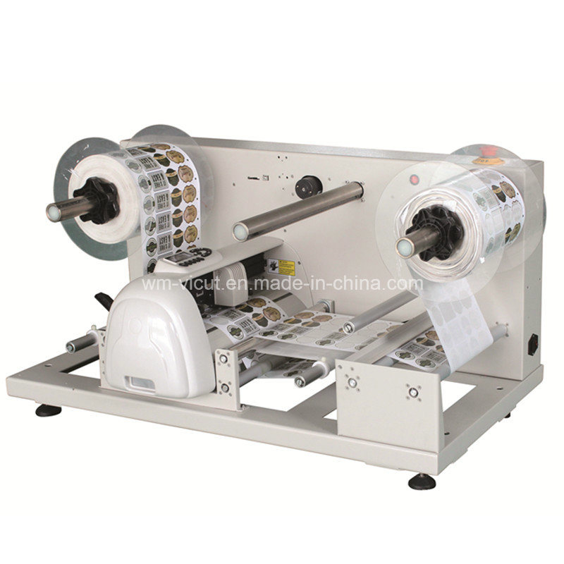 Automatic Roll to Roll Adhesive Label Rotary Die-Cutting Machine