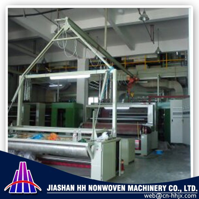 3.2m PP Spunbond Nonwoven Fabric Slitting/Cutting Machine