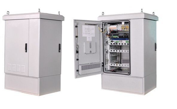 Network Cable Wall Mounted Cabinet with Double Section and Good Quality From China Factory