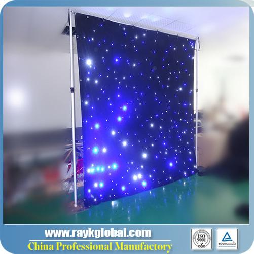 LED Star Curtain/Star LED Lights Cloth/Soft LED Cloth
