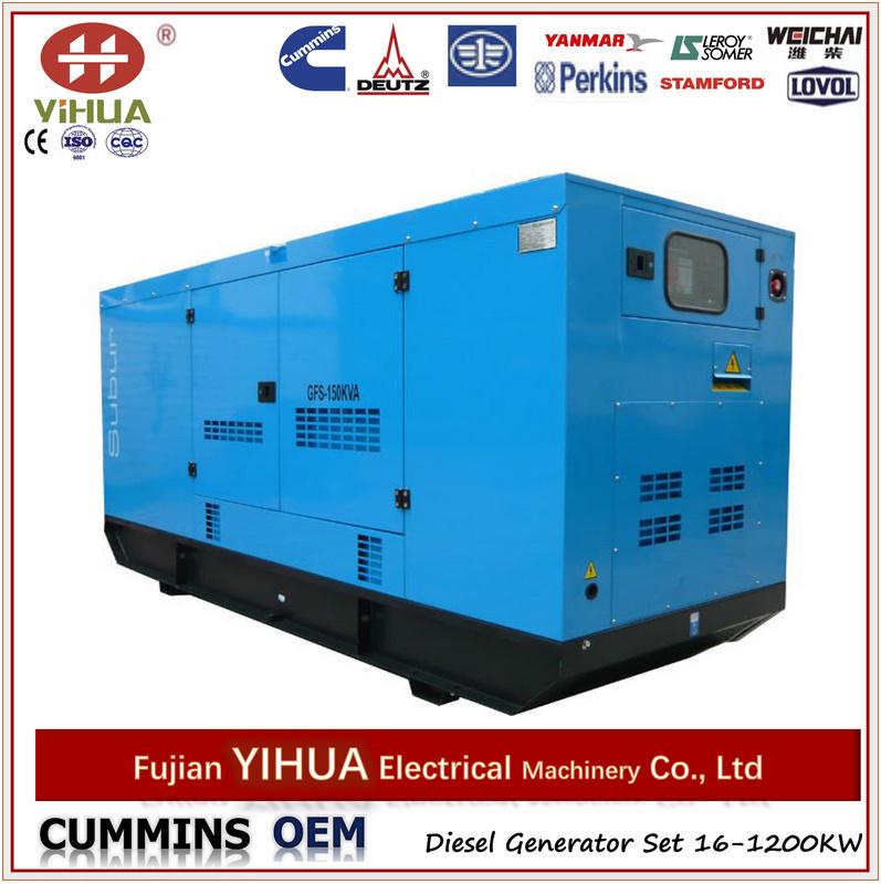 Foton Isuzu Soudproof Generators, Denyo Type
