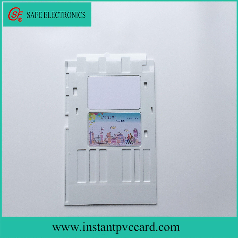 White Ink Printing PVC Card Tray for Epson P50 Printer
