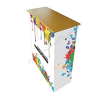 Folding Aluminum Promotion Counter