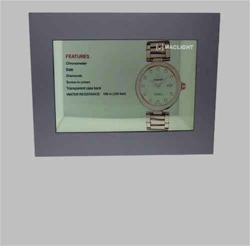 32′′ Transparent LCD Display Case with 1920X 1080 Resolution