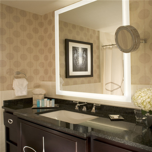 Us Market Hotel Waterproof Frameless Fogfree Bathroom Vanity LED Mirror