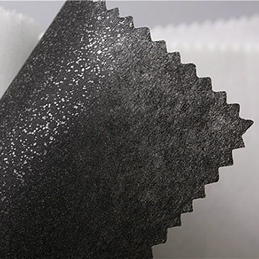 1025hf Non Woven Fusible Interlining Black Color