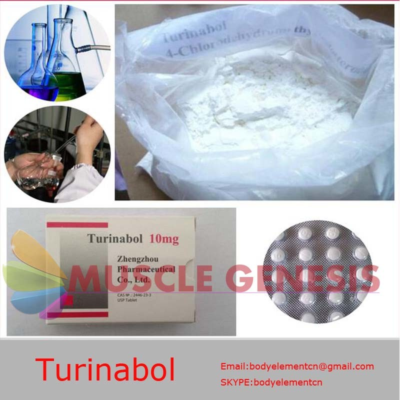 Oral Anabolic Steroids 4-Chlorodehydromethyltestosterone Turinabol