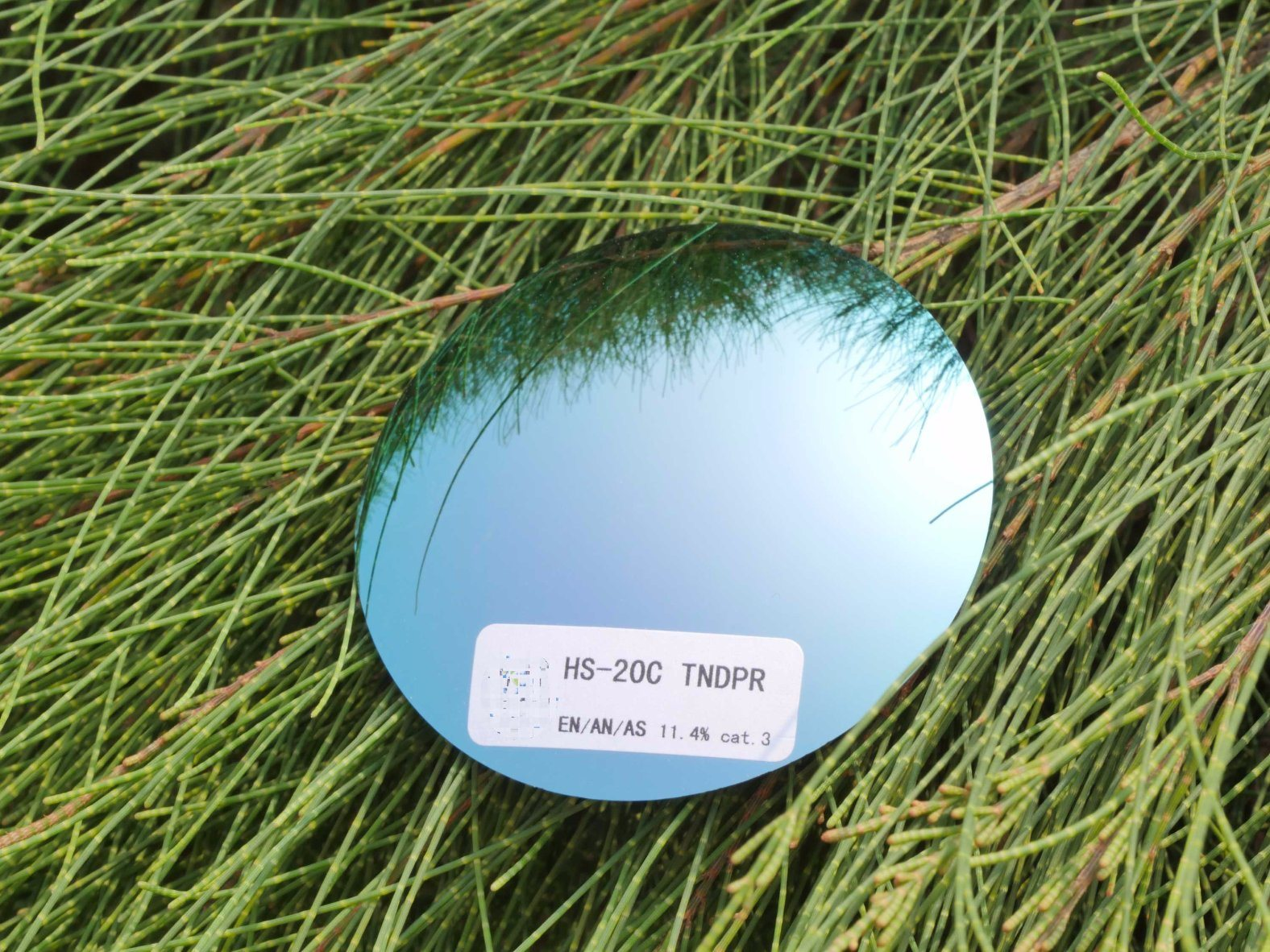 Cr39 Revo Coating Polarized Sunglasses Lens