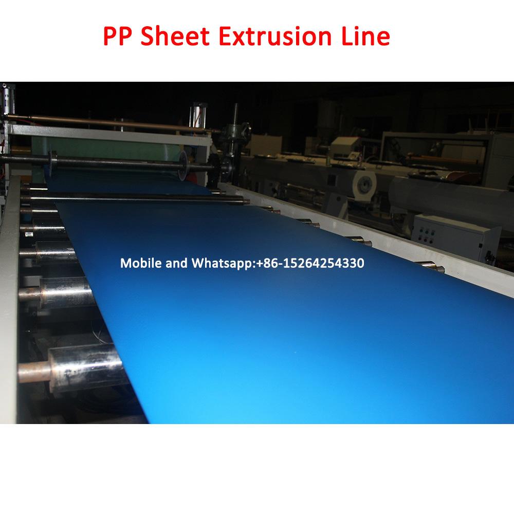 PP Foam Stationary Sheet Making Machine